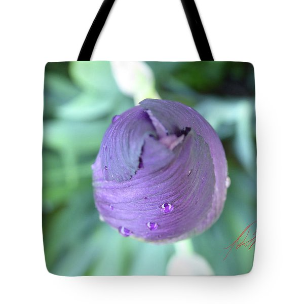 Iris After The Rain Vi Tote Bag