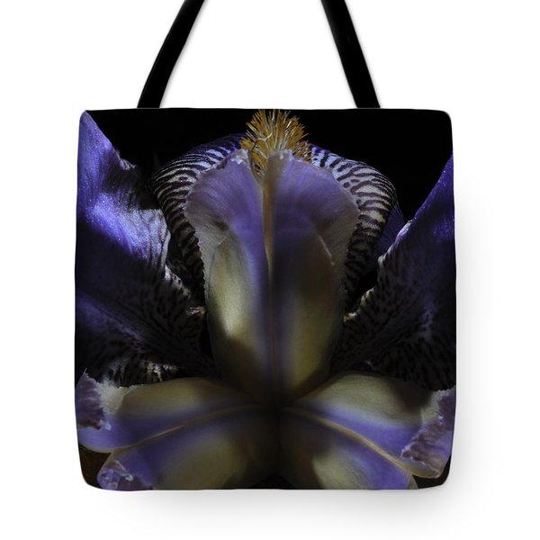 Iris Aglow Tote Bag