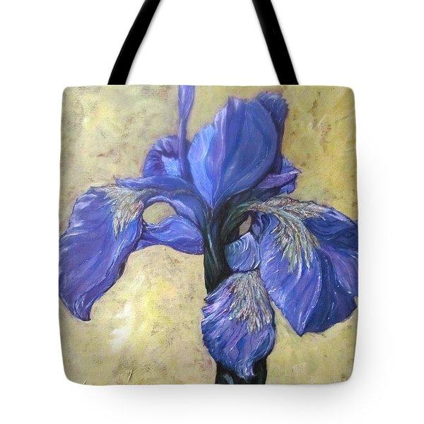 Iris Tote Bag by Barbara O'Toole