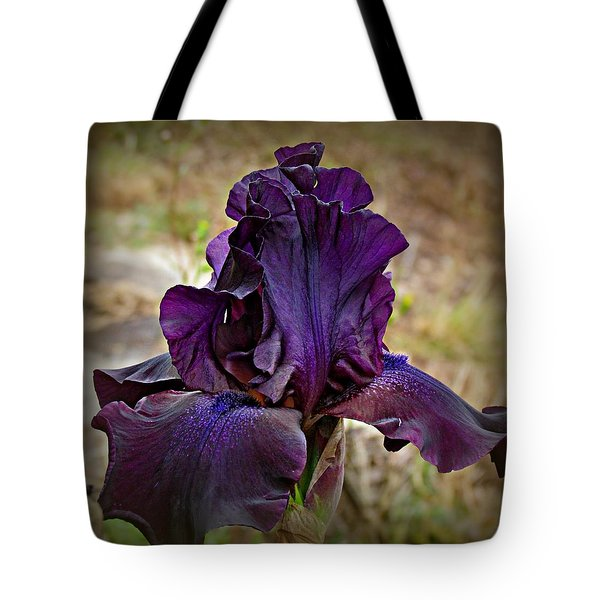 Iris Beauty Tote Bag by Katie Wing Vigil