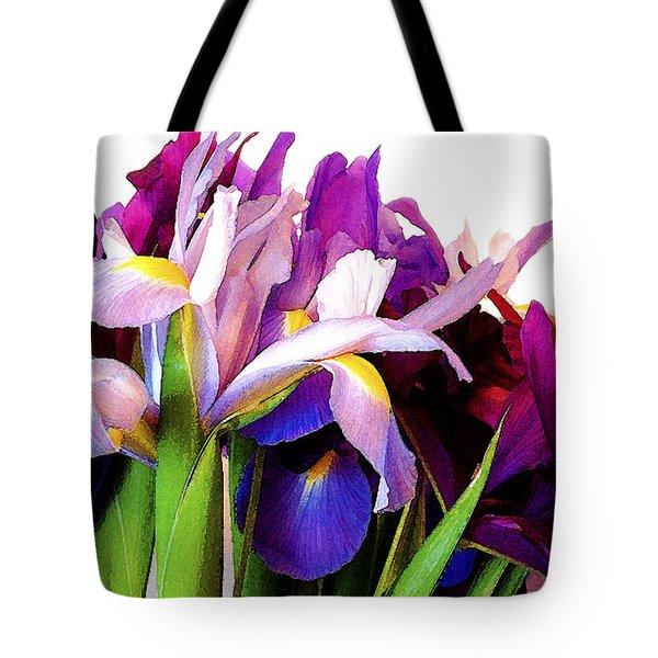 Iris Bouquet Tote Bag