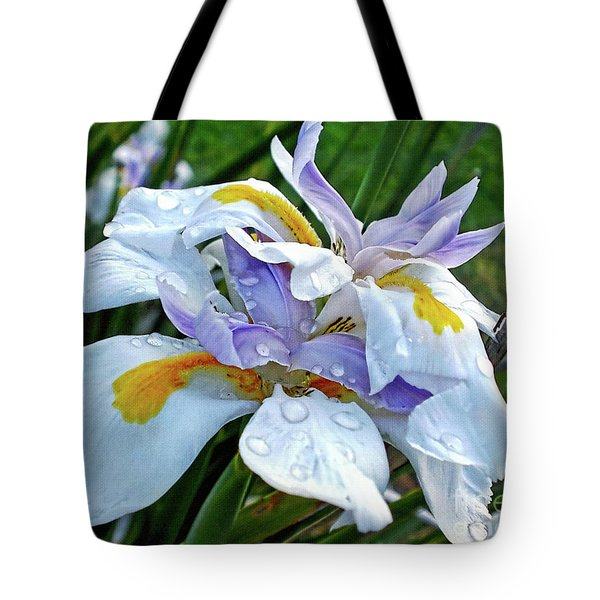 Iris Enjoying The Sunshine Tote Bag by Kaye Menner