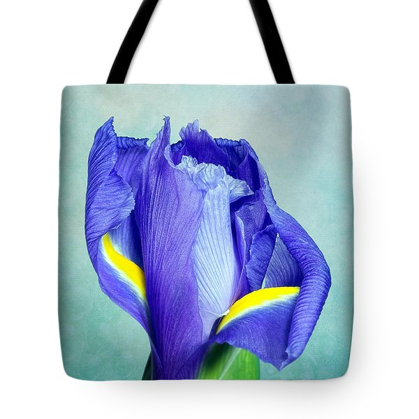 Iris Flower Of Faith And Hope Tote Bag by Tom Mc Nemar