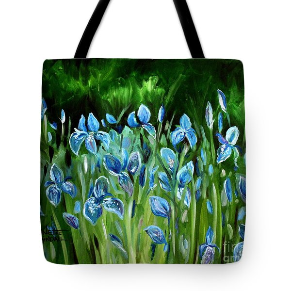 Iris Galore Tote Bag