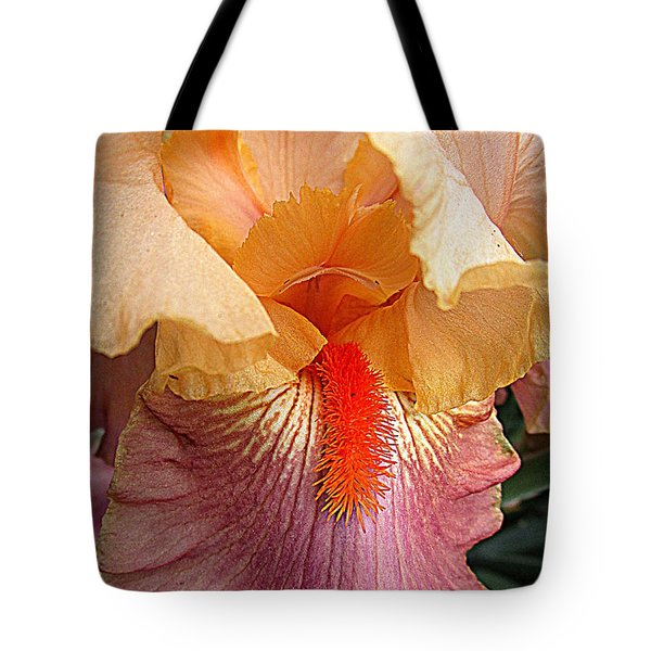 Iris Garden 19 Tote Bag by Randall Weidner