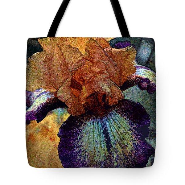 Iris Intimacy Tote Bag by Angelina Vick