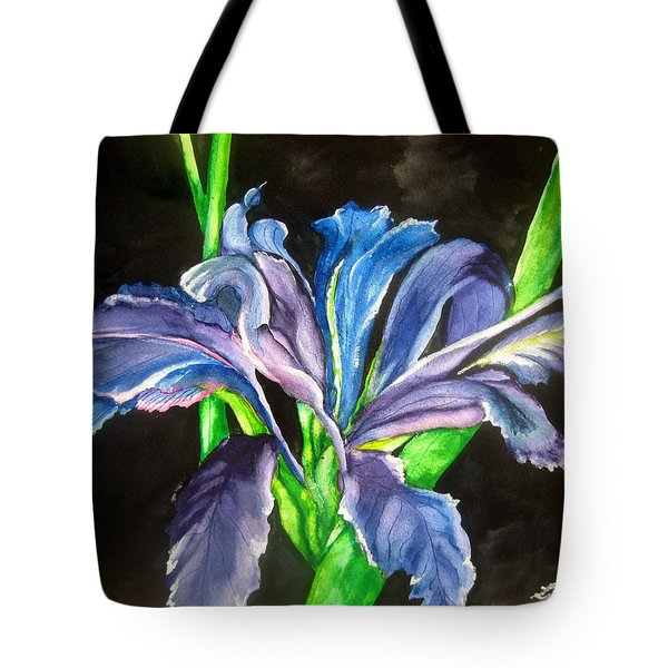 Iris Tote Bag by Lil Taylor