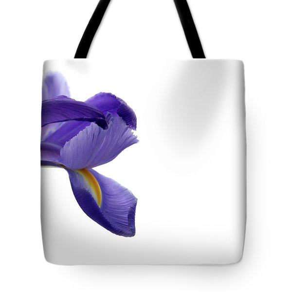 Tote Bag featuring the photograph Iris by Marie Leslie