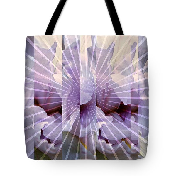 Iris Nova Tote Bag by Robert Kernodle