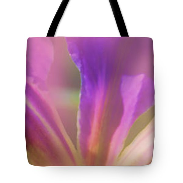 Iris Panorama Tote Bag