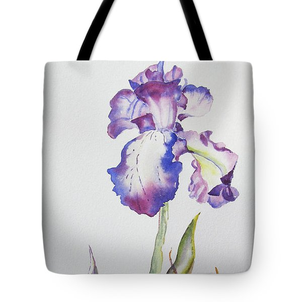 Iris Passion Tote Bag
