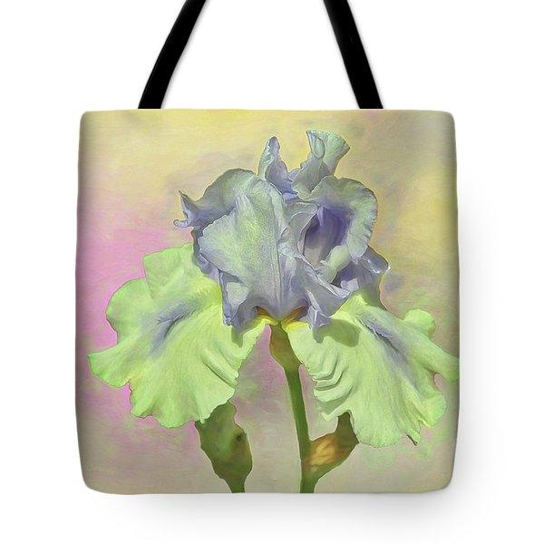 Iris Pastels Tote Bag