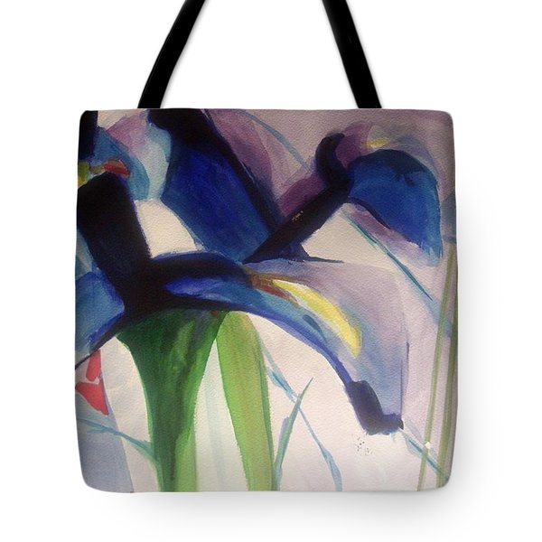 Iris  Power Tote Bag