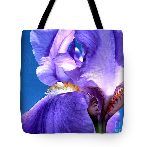 Iris Princess Tote Bag