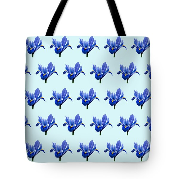Tote Bag featuring the photograph Iris Recticulata-2 by Paul Gulliver