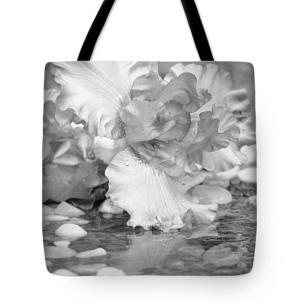 Iris Reflection Tote Bag