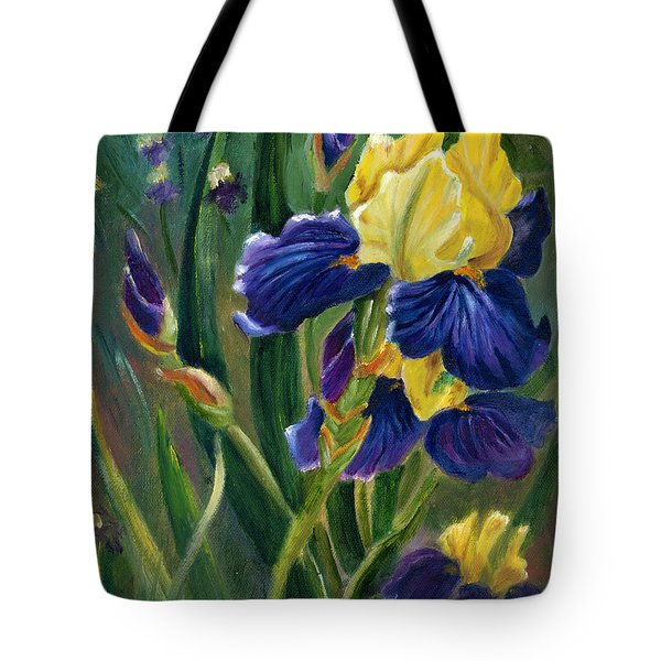 Iris Tote Bag by Renate Nadi Wesley