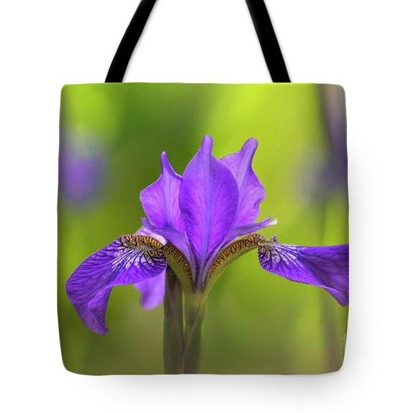 Iris Tote Bag by Rima Biswas