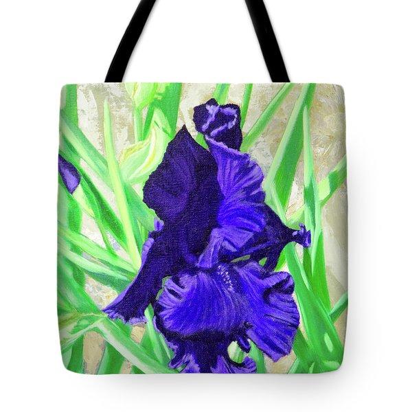 Iris Royalty Tote Bag