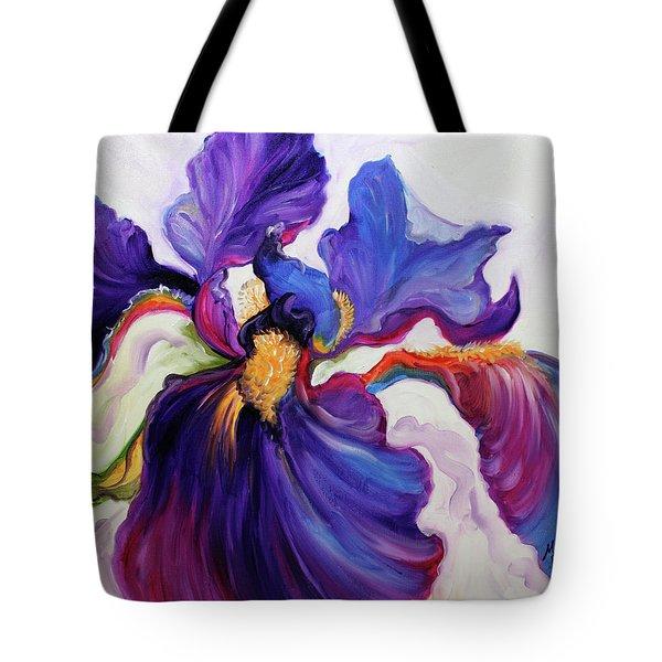 Iris Serenity Tote Bag