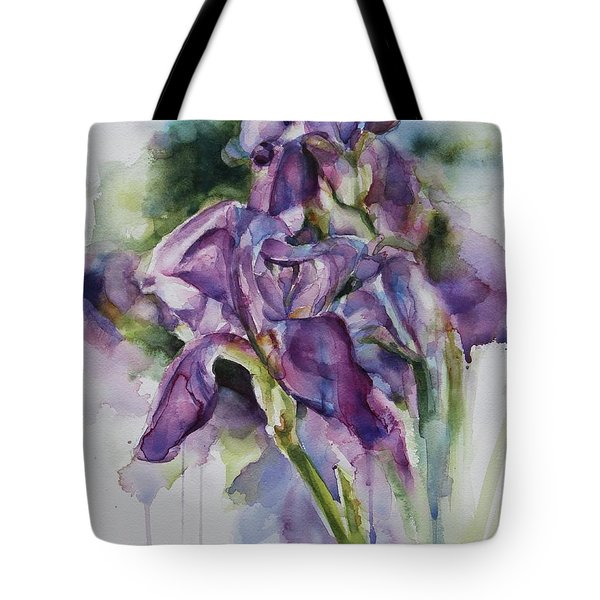 Iris Song Tote Bag
