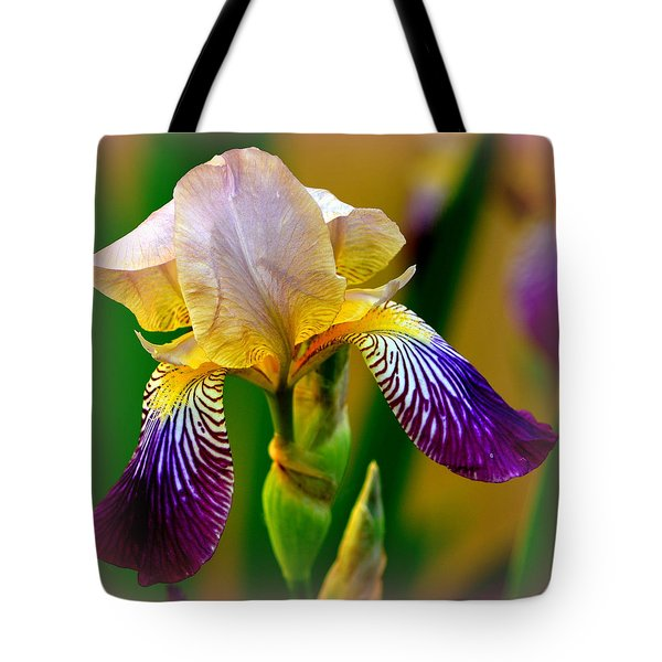 Iris Stepping Out Tote Bag