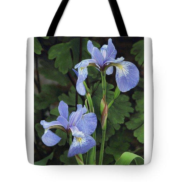 Iris Study Tote Bag by Bruce Morrison