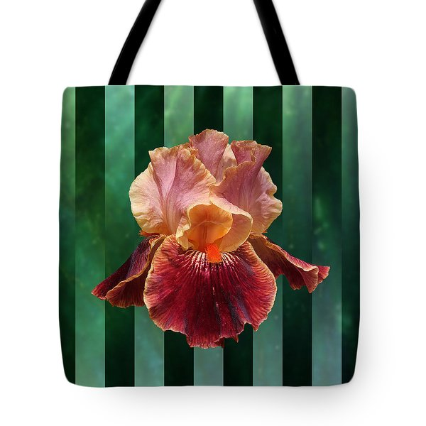 Iris Unleashed Tote Bag