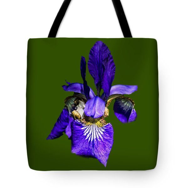 Tote Bag featuring the photograph Iris Versicolor by Mark Myhaver