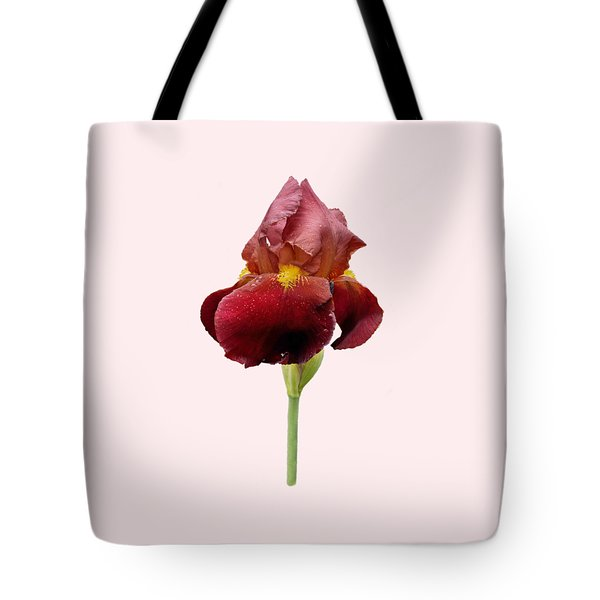 Iris Vitafire Transparent Background Tote Bag