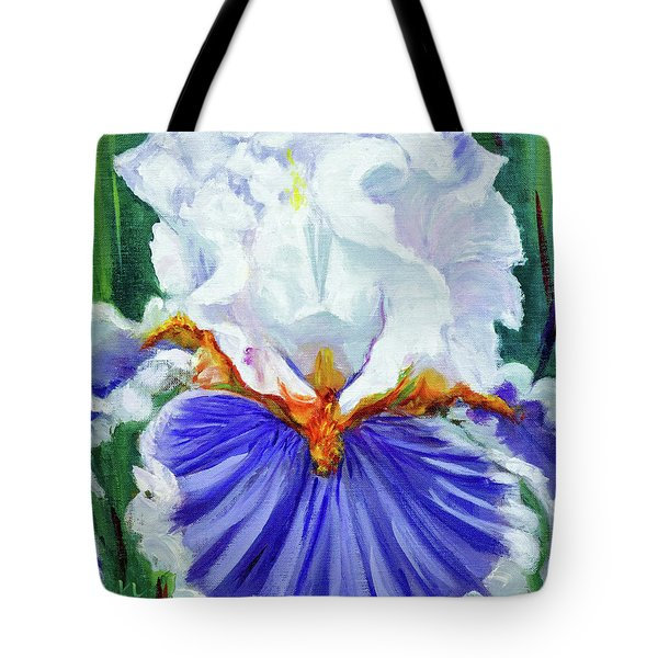 Iris Wisdom Tote Bag