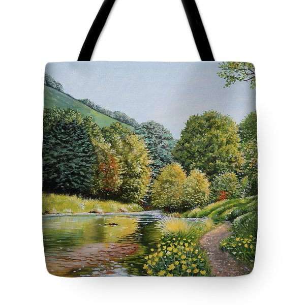 Irish Afternoon Stroll Tote Bag