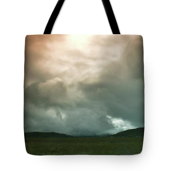 Tote Bag featuring the photograph Irish Atmospherics. by Terence Davis
