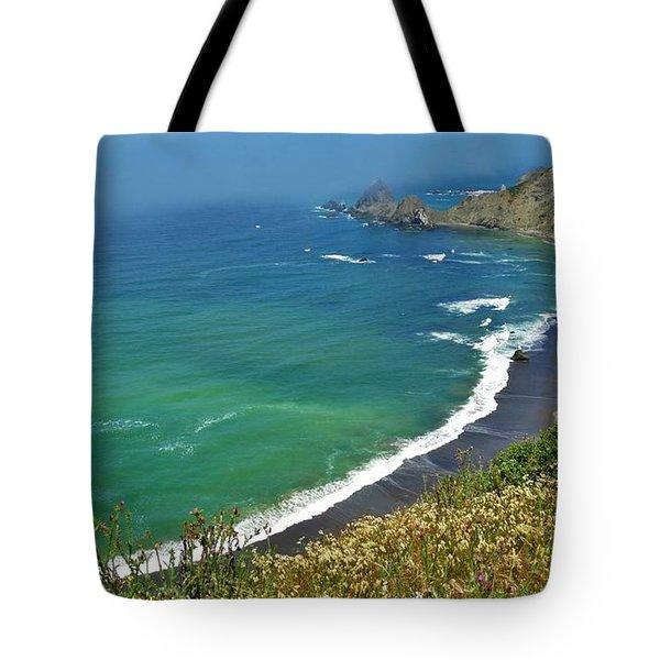 Irish Beach Viewpoint Tote Bag