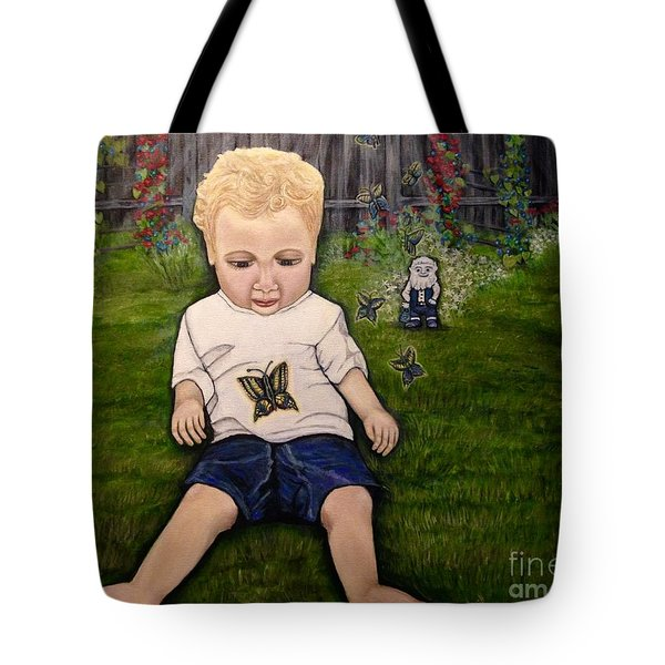 Tote Bag featuring the painting Irish Blessings From Heaven by Kimberlee Baxter