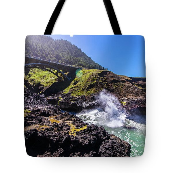 Irish Bridge Tote Bag