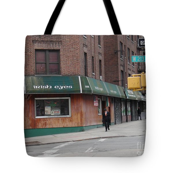 Tote Bag featuring the photograph Irish Eyes by Cole Thompson