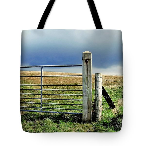 Tote Bag featuring the photograph Irish Field by Patricia Strand