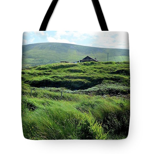 Irish Grasslands Tote Bag