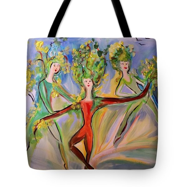 Irish Greenery  Tote Bag
