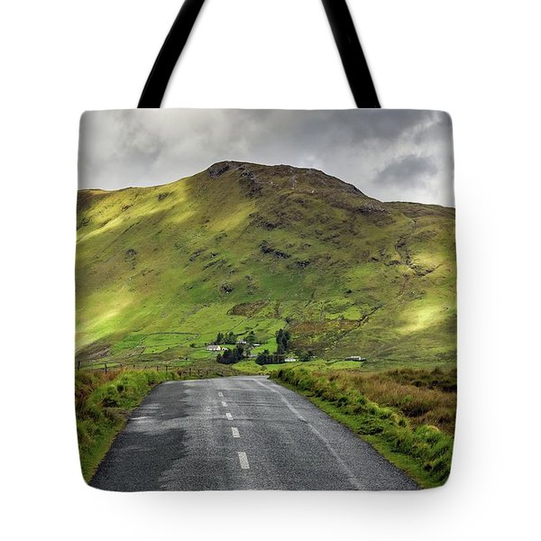 Irish Highway Tote Bag