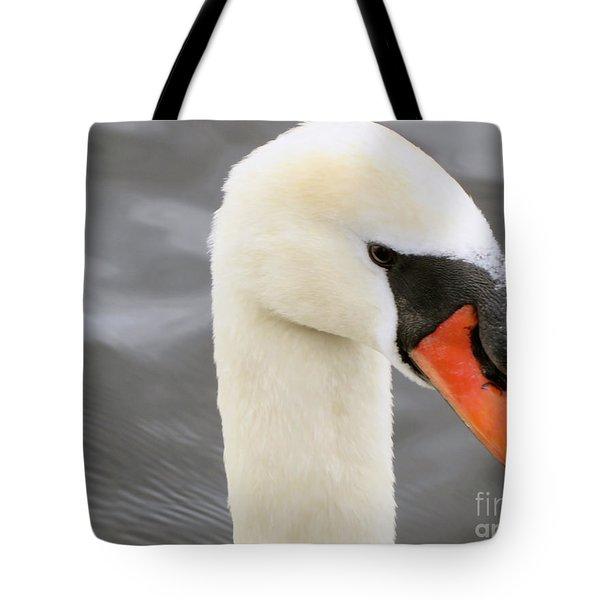 Irish Mute Swan  Tote Bag