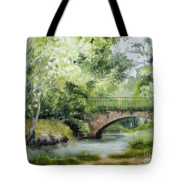 Irish Overpass Tote Bag