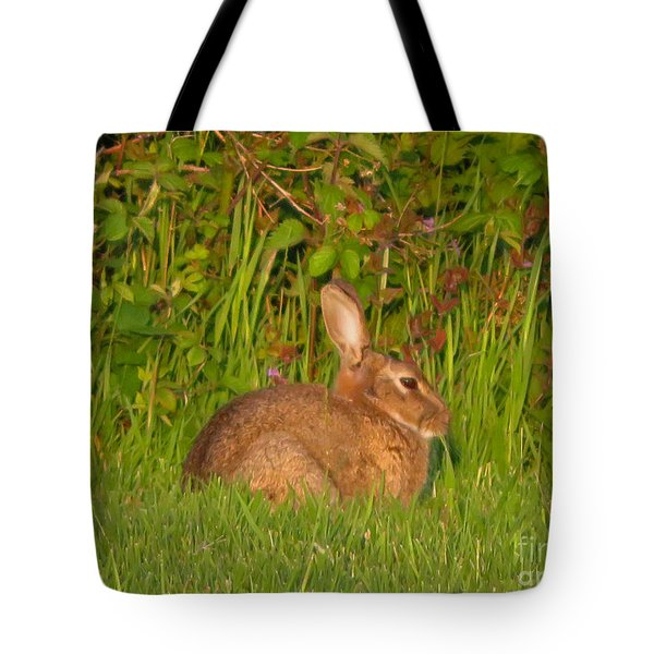 Irish Rabbit Tote Bag