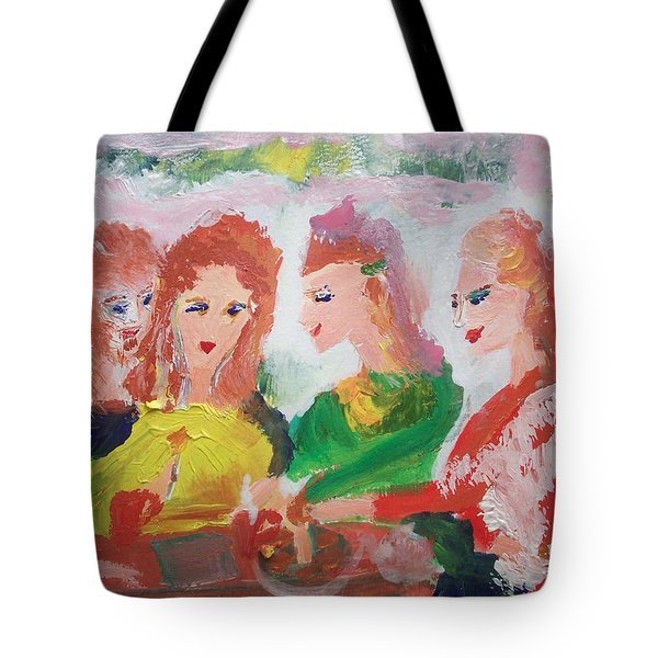 Irish Reunion Tote Bag by Judith Desrosiers