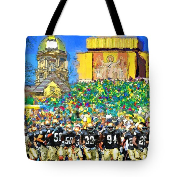 Irish Run To Victory Tote Bag
