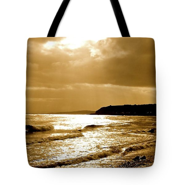 Irish Sea Tote Bag