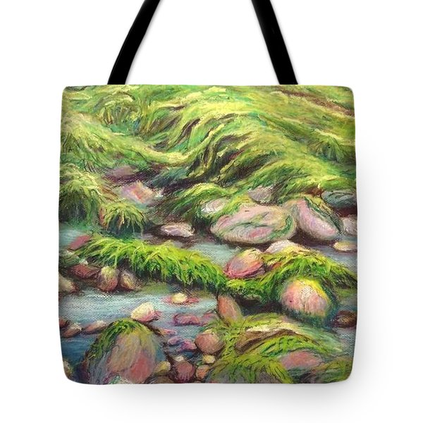 Irish Seas Tote Bag