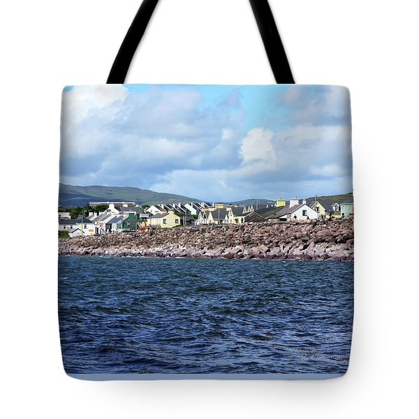 Irish Seaside Village - Co Kerry  Tote Bag by Aidan Moran