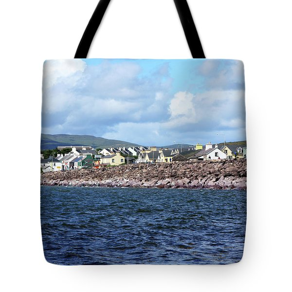 Irish Seaside Village, Co Kerry  Tote Bag